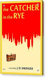 The Catcher In The Rye Book Cover Movie Poster Art 1 Acrylic Print