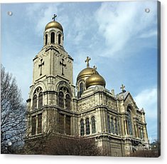 The Cathedral In Varna Acrylic Print