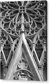 The Cathedral Of St. Patrick Close Up Acrylic Print