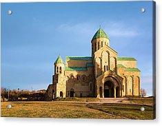 The Cathedral Of The Dormition Acrylic Print by Svetlana Sewell