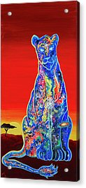 The Celestial Empress Acrylic Print by Marika Segal