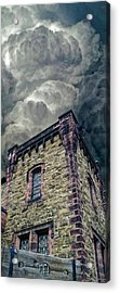 Acrylic Print featuring the photograph The Cell Block Restaurant by Greg Reed