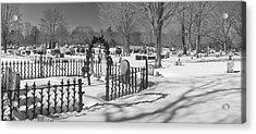 The Cemetery Acrylic Print