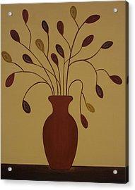 The Centerpiece Acrylic Print by Sandy Bostelman