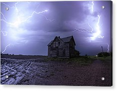 The Centerville Horror Acrylic Print by Aaron J Groen