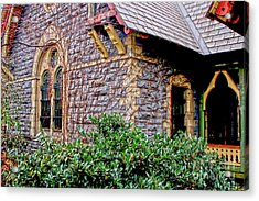 Acrylic Print featuring the photograph Central Park Dairy Cottage by Sandy Moulder