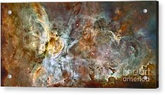 The Central Region Of The Carina Nebula Acrylic Print