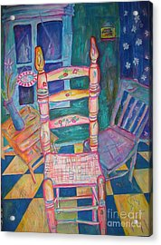 The Chair 2 Acrylic Print by Marlene Robbins