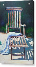 The Chair Acrylic Print by Shannon Grissom