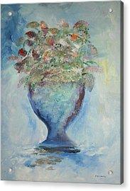 The Chalise Vase Acrylic Print by Edward Wolverton