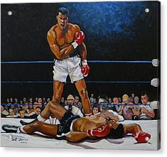 The Champ Acrylic Print