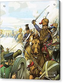 The Charge Of The Light Brigade Acrylic Print by Pat Nicolle