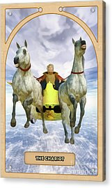 The Chariot Acrylic Print by John Edwards
