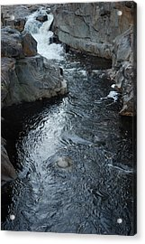 The Chasm Acrylic Print by Clay Peters Photography