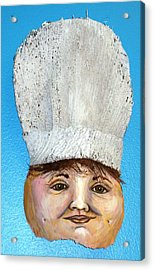 The Chef Acrylic Print