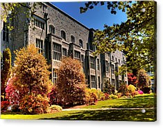 The Chem Building At Ubc Acrylic Print by Lawrence Christopher
