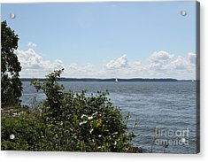 Acrylic Print featuring the photograph The Chesapeake From Turkey Point by Donald C Morgan