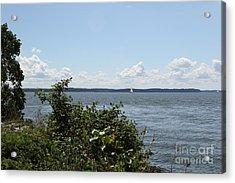 The Chesapeake From Turkey Point Acrylic Print
