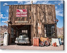 The Chevron Station  Acrylic Print