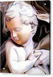 The Child From Michaelangelo Acrylic Print