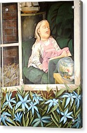 The Child Sleep - L'enfant Do Acrylic Print