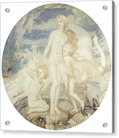 The Children Of Lir Acrylic Print by John Duncan
