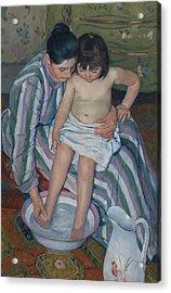 The Child's Bath Acrylic Print by Mary Cassatt