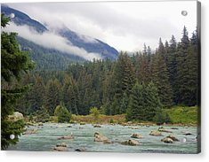 The Chillkoot River 2 Acrylic Print