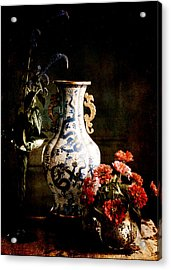 The Chinese Vase Acrylic Print by Sarah Vernon