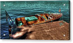 The Chris Craft Continental - 1958 Acrylic Print