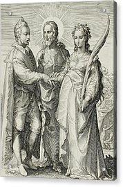 The Christian Marriage Acrylic Print