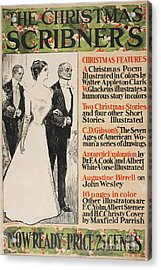 The Christmas Scribner Acrylic Print