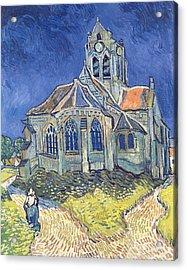 The Church At Auvers Sur Oise Acrylic Print by Vincent Van Gogh