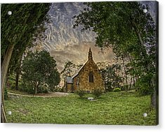 Acrylic Print featuring the photograph The Church by Chris Cousins