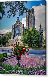 Acrylic Print featuring the photograph The Church In Summer by Kendall McKernon