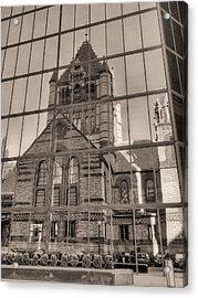 The Church Acrylic Print by JC Findley