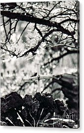 Acrylic Print featuring the photograph The Church by Juls Adams