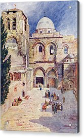 The Church Of The Holy Sepulchre Acrylic Print
