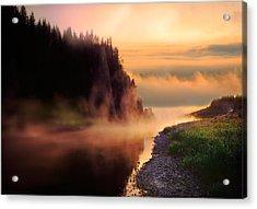 The Chusovaya River Acrylic Print
