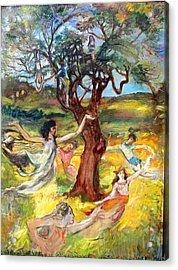 the Cinnamon Tree Acrylic Print