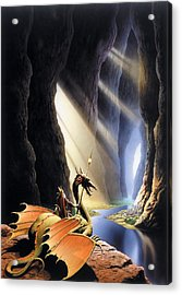 The Citadel Acrylic Print by The Dragon Chronicles - Steve Re