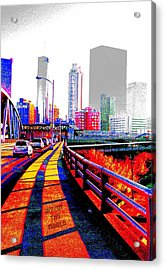 The City  Acrylic Print