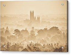 The City Of Canterbury Acrylic Print