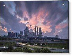 The City Rises Acrylic Print