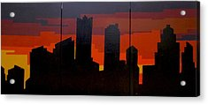 The City Sleeps Acrylic Print by Ashley Price