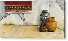 The Clay Pots Acrylic Print