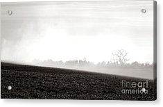 The Clearing Smoke Acrylic Print by Olivier Le Queinec