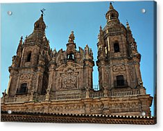 Acrylic Print featuring the photograph The Clerecia Church In Salamanca by Farol Tomson