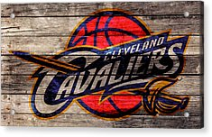 The Cleveland Cavaliers 2w Acrylic Print by Brian Reaves