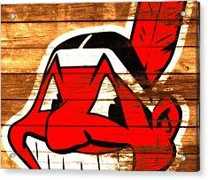 The Cleveland Indians 3e    Acrylic Print